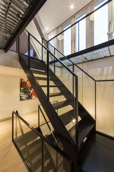 通透空间视觉盛宴 阿姆斯特丹300平大气公寓