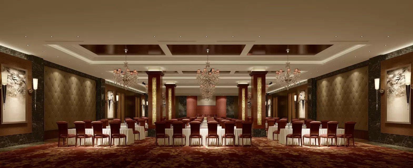 酒店会议厅设计效果图图片