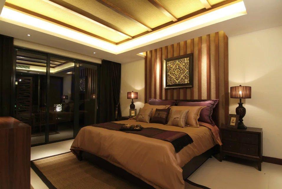 最新中式风格度假别墅家装效果图图片