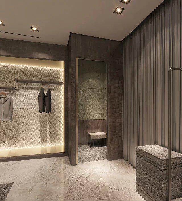 服装店试衣间设计图片
