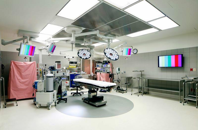 现代医院装修效果图之手术室图片