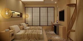 日式酒店宾馆装修设计图