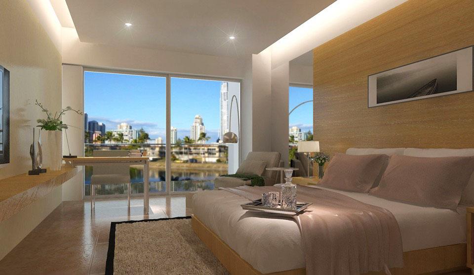 客房 现代宾馆简单装修效果图图片