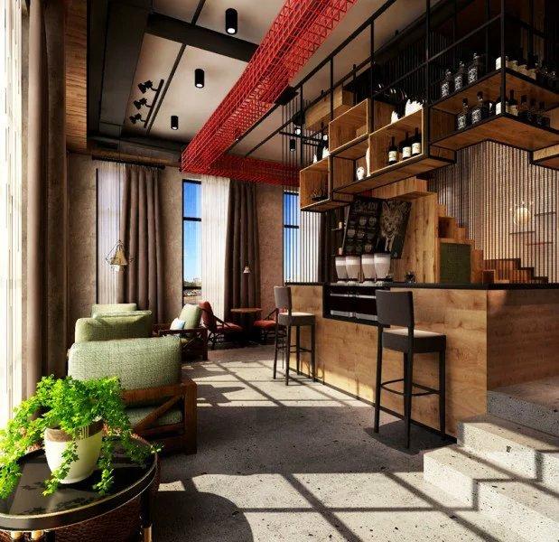 咖啡厅吧台设计图片欣赏_装修图片-保障网装修效果图