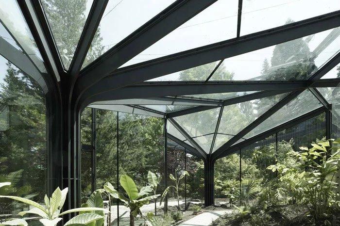 钢结构花棚阳光棚设计