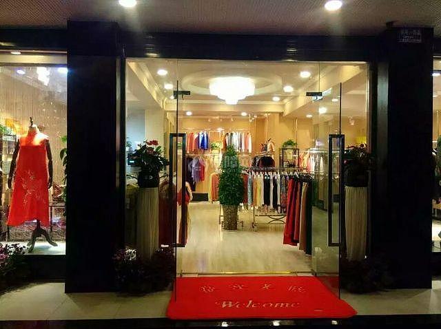 怀化服装店园林展示成都服饰设计院图片