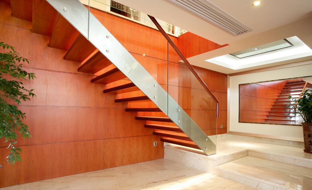 84平现代中式风格家装楼梯设计