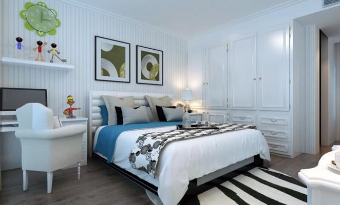 收藏 免费户型设计免费获取报价 龙锦苑二区 儿童房其它白色灯具窗帘