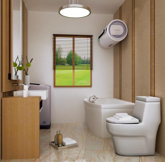 日式现代家庭三居室装修卫生间图片