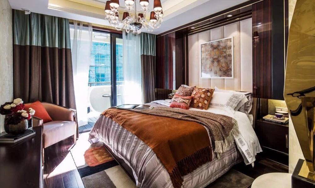 134平豪华欧式风格室内设计效果图案例