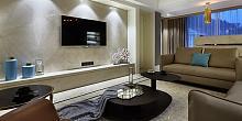 127㎡后现代风格三居室装修设计