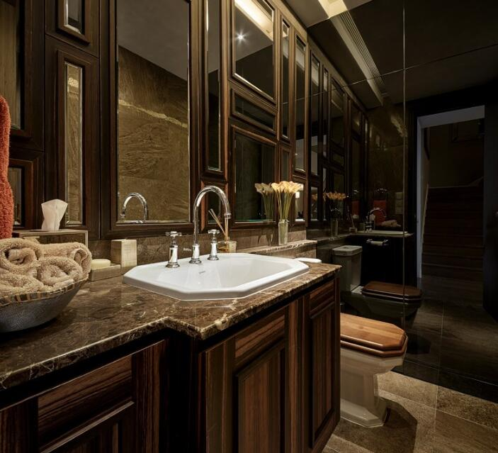 现代美式风格别墅室内装饰效果图欣赏