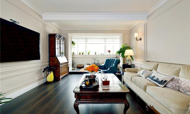 豪华欧式装修客厅小平