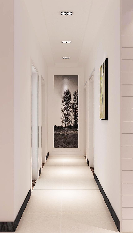 现代风格客厅瓷砖效果图