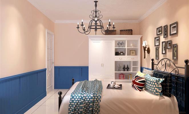 灯具床品套件 点赞 收藏 免费户型设计免费获取报价 地中海 客厅电视