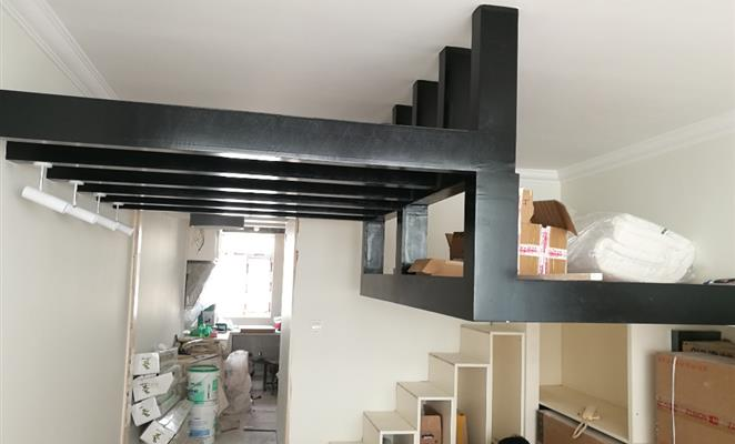 点赞 收藏 免费户型设计免费获取报价 钢结构 客厅其它黑白其它窗帘