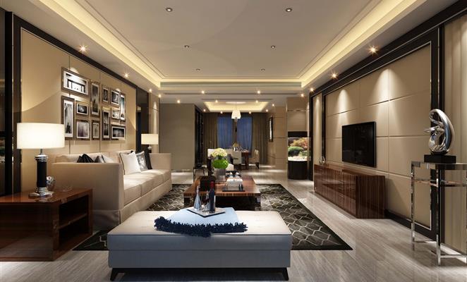 港式风格-客厅