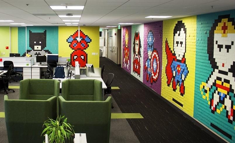 创意办公室设计 超级英雄的另一种打开方式