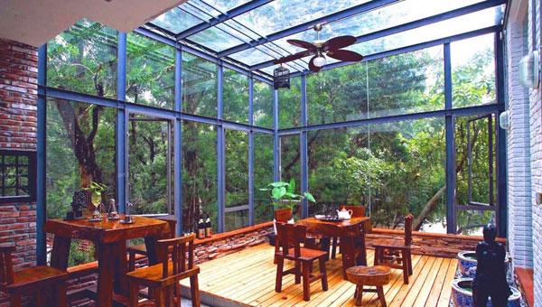 超美的阳台阳光房效果图 这样的阳台装修太棒了