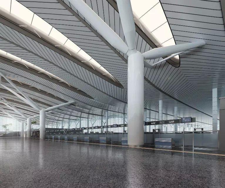 最新飞机场室内装修设计图片欣赏