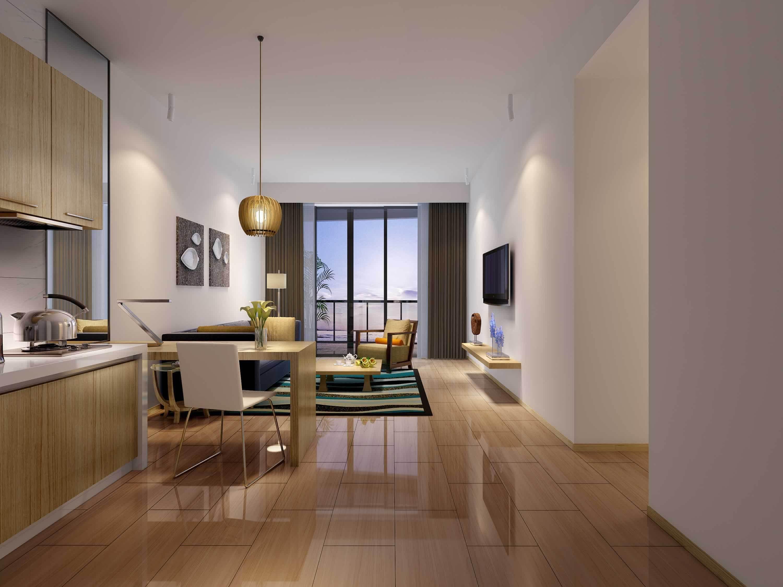 60平米简约单身公寓装修效果图