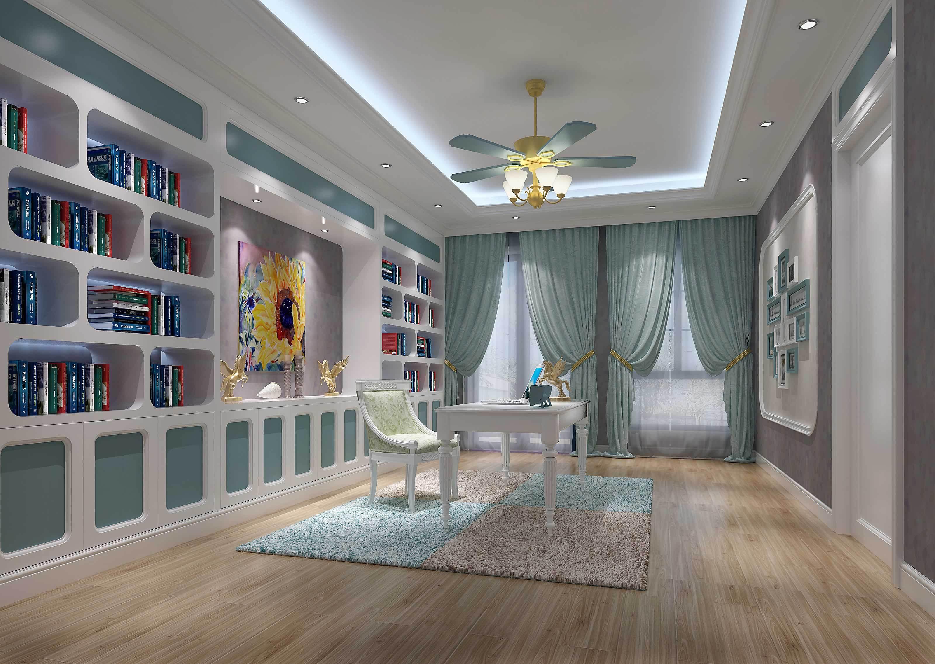 地中海风格别墅室内装修效果图