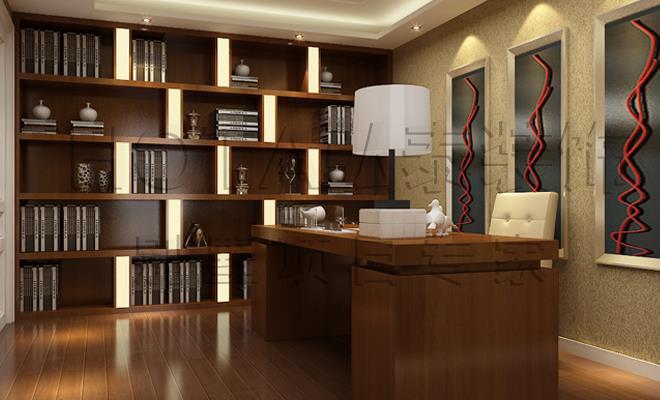 书房一控一灯电路图