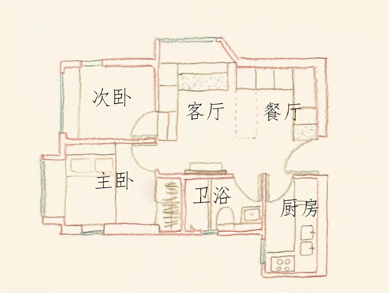 40平旧房改造 模块化爆改收纳不输大户型