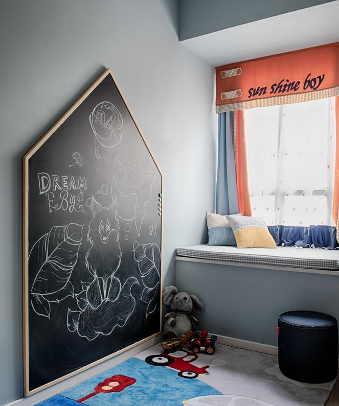 100平三居室房屋设计 把长辈不喜欢的灰色应用这么好真是佩服