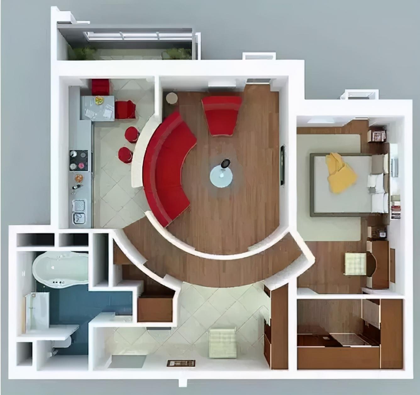 小戶型裝修有技巧!速速拿去參考,讓你家房子立馬大一倍