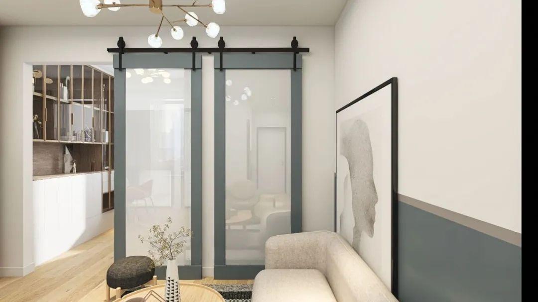68平小两房混搭装修效果图 浅色系为主视觉上放大一倍