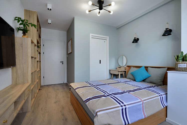 50平老宅改造 变身三房舒适宅一家三口住都不挤