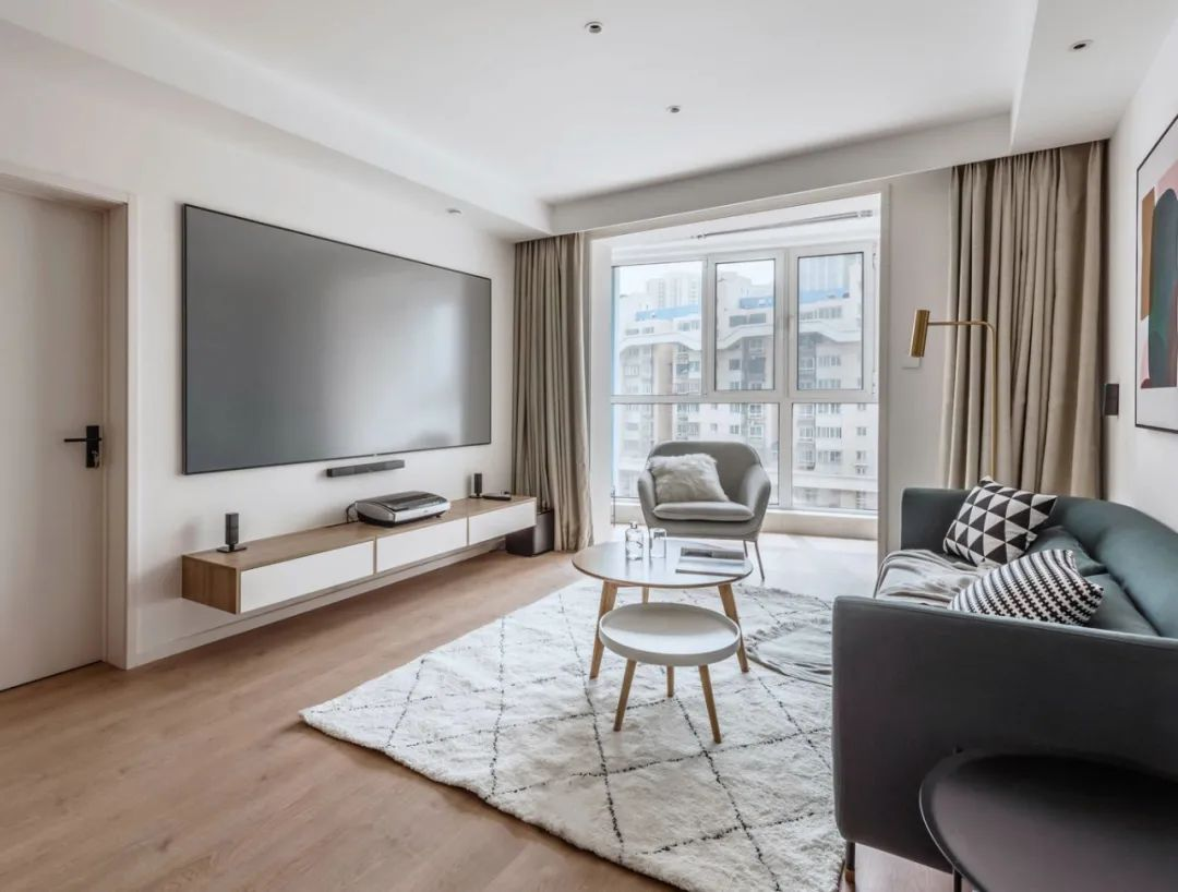 105平两居室装修 原木风精致又高级