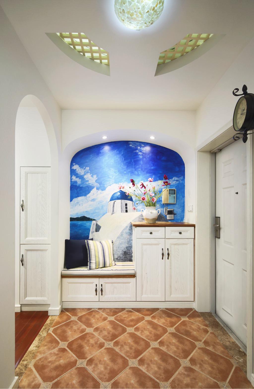130平地中海設計 每個空間裝的都完美