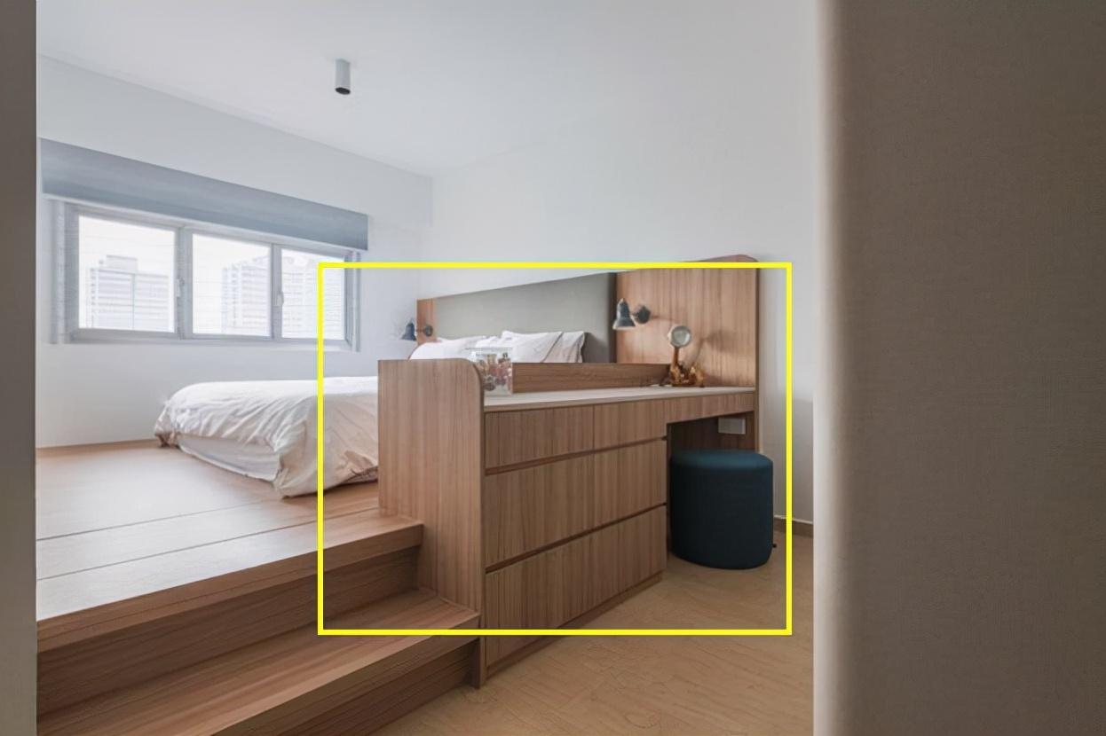 卧室如何设计书房 步入式的设计仅需2㎡