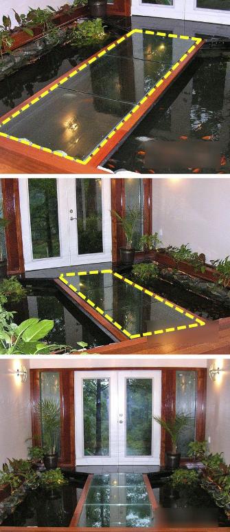 别墅入户水景设计 做成这样风景好装修好