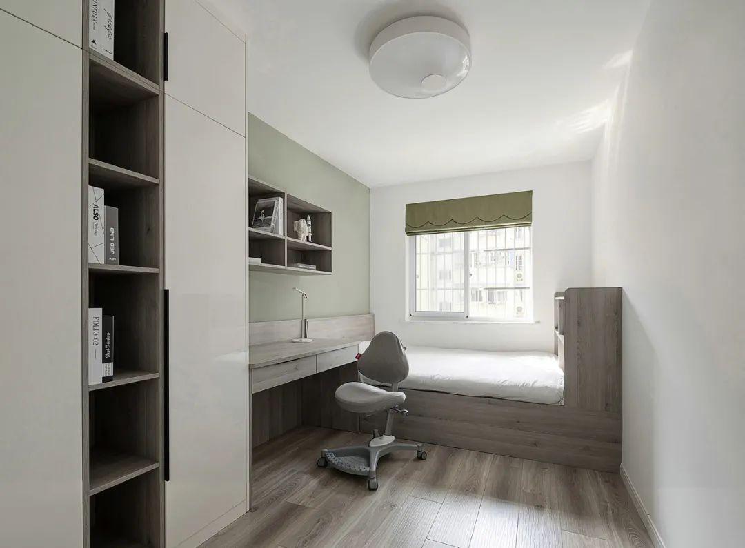 62平两居室装修 从空间到色彩搭配都用了大胆留白