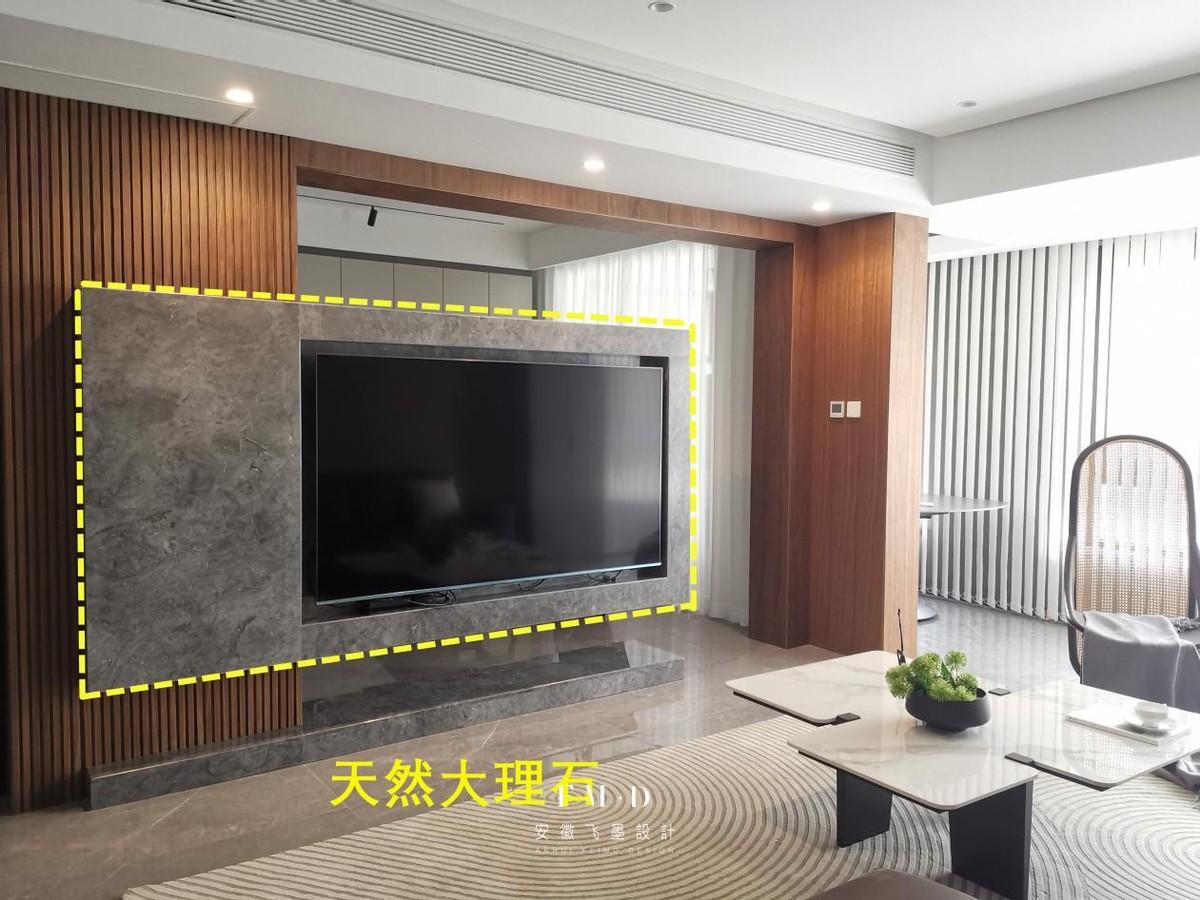 半墙电视墙设计 3个功能外表丰富多样谁看谁夸