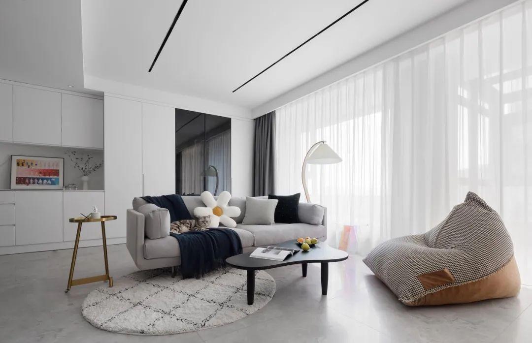 118平三居室装修设计 绝美的搭配好看到不行!